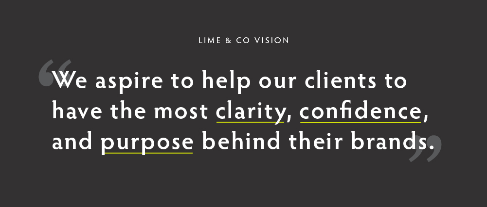 Lime & Co Vision Statement graphic